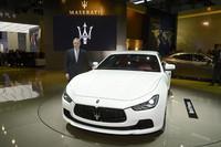 マセラティが新型セダン「ギブリ」を発表【上海ショー2013】の画像