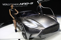 ヒュンダイのデザインコンセプト「HND-9Venace」。