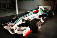 ホンダ「RA108」。昨年(の唯一!?)の話題、アースカラーはややおとなしめに。(写真=Honda)