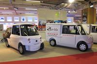エコ&モビリテの「シンプリーシティ プロ」。荷台は5タイプ。バッテリーはリチウムイオンと鉛電池が選べる。価格は8000ユーロ(約92万円)。