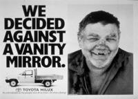 第4回『トヨタ ハイラックスの海外での広告 その4』