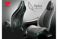 トヨタ紡織の応募作品である「Aptus」