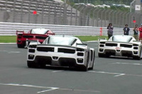 【Movie】スーパーカーが、F1マシンが、富士に集結!〜「フェラーリ&マセラティデイ コーンズフェスティバル2006」(前編)