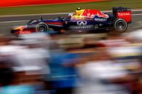 予選8位から1ストップで上位を狙ったレッドブルのリカルド。レース終盤のタイヤが苦しい中、ジェンソン・バトンの猛追を振り切り3位でゴール、今年4度目の表彰台にのぼった。「レースがあと1周あったらキツかったかも」とはレース後の弁。(Photo=Red Bull Racing)
