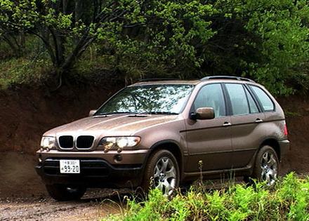 BMW X5 3.0i(5AT)【試乗記】