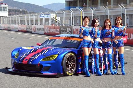 2021年シーズンのSUPER GTに参戦するニューマシン、新型「スバルBRZ GT300」のシェイクダウンが、富士スピ...
