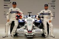 ロバート・クビサ(左)とニック・ハイドフェルド(右)。チームメイト同士の争いが楽しみなチームだ。(写真=BMW)