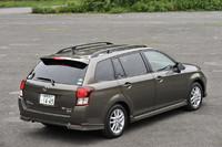 ルーフレールは3万1500円のオプション。装着しなければ車高は30mm低い1475mmに。