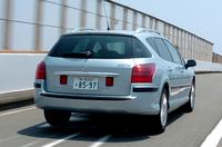 【スペック】407 SW SPORT 3.0:全長×全幅×全高=4775×1840×1510mm/ホイールベース=2725mm/車重=1720kg/駆動方式=FF/3リッターV6DOHC 24バルブ(210ps/6000rpm、29.5kgm/3750rpm)/価格=450万円(テスト車=同じ)