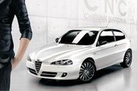イタリアンデザイナー「エンニョ・カパサ」氏とのコラボレーションによる、特別仕様車「アルファ147 C'N'C」。