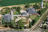 マツダモーターヨーロッパの開発拠点であるヨーロピアンR&Dセンター。ドイツのヘッセン州オーバーウァゼルに位置する。