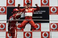 【F1 2006】第10戦アメリカGP、シューマッハー起死回生の勝利、フェラーリ1-2フィニッシュ、ルノー惨敗の画像