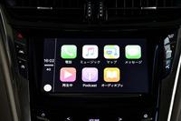 Apple CarPlay(写真)と8段ATを搭載する現行モデルが登場したのは2015年12月のこと。翌2016年の1月に発売された。