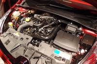 新開発の1.2リッター直4ターボは、わずか2000rpmで最大トルクを発生する。