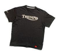 今週は、トライアンフ純正の「マックィーンTシャツ」をプレゼント!