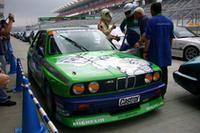 「アルピナ M3 グループAレーシングカー」が往年の走りを披露した。