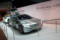水素燃料電池車のコンセプトモデル「メルセデス・ベンツF125!」