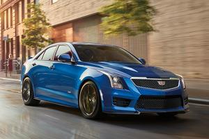 ブルーが鮮烈、「キャデラックATS-V」の限定車登場