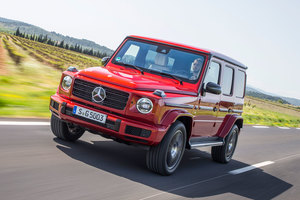 メルセデス・ベンツG500(4WD/9AT)/メルセデスAMG G63(4WD/9AT)【海外試乗記】