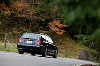 MG ZT-T:全長×全幅×全高=4810×1780×1470mm/ホイールベース=2750mm/車重=1590kg/駆動方式=FF/2.5リッターV6DOHC24バルブ(177ps/6500rpm、24.5kgm/4000rpm)/車両本体価格=443.0万円(T)