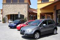 イタリアの、とあるフィアット・ショールームの風景。