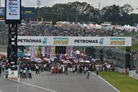 レース前のパドック。今年の鈴鹿1000kmは、比較的涼しいウエットコンディションで争われることとなった。