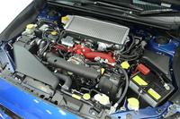 308psの最高出力を発生する2リッター水平対向4気筒DOHCターボエンジン。ECU制御の改良により、加速レスポンスが向上している。