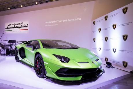 ランボルギーニ・ジャパンは2018年を締めくくる「Lamborghini Year-End Party」を開催した。2018年に日本に...