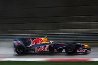 奇才エイドリアン・ニューウィの手がけた「レッドブルRB5」を駆り、ベッテルは初優勝した2008年イタリアGP同様、雨のレースをポールポジションから制した。(写真=Red Bull Racing)