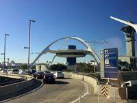ロサンゼルス国際空港。筆者が今年、ロサンゼルスオートショーを取材したときのもの。