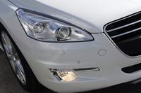 7つのLEDで構成される「LED照明チューブ」は、「508」のスタイリング上のポイント。