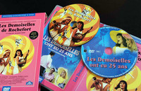 フランス版「ロシュフォールの恋人たち」DVD。後年作られた回顧編と2枚組である。