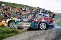 フォードは、今大会に08年型モデル「フォーカスRS WRC08」を投入した。07年型モデルのアップデート版で、パワー不足が囁かれたエンジンを中心に強化が図られた模様。 (写真=フォード)
