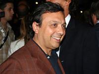 ピエロ・キャンベレッティ。2007年7月、新型500発表会で。