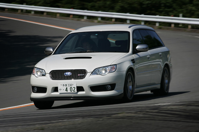 スバル・レガシィS402ワゴン(4WD/6MT)【試乗記】