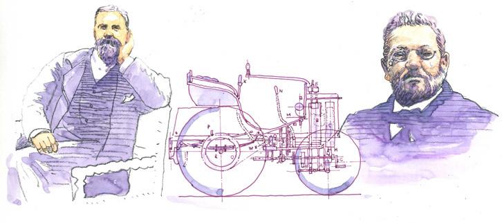 第15回:「システム・パナール」という発明<1891年>自動車の進化を加速させた駆動方式革命