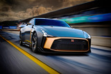 日産GT-R50 by Italdesign(4WD/6AT)【海外試乗記】