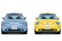 VW「ニュービートル」にカラフルな特別仕様車の画像