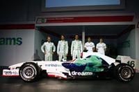 ホンダ、2008年のF1マシン「RA108」を発表【F1 08】