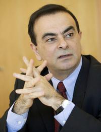 「ルノー」の会長兼CEO、カルロス・ゴーン氏。日産自動車の社長兼CEOでもある。