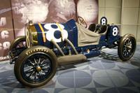 会場には、1912年の大会優勝車「ナショナル」が展示された。