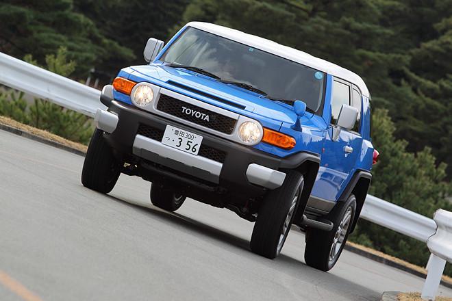 トヨタFJクルーザー カラーパッケージ(4WD/5AT)【試乗記】