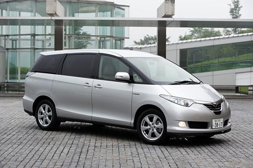 トヨタ・エスティマハイブリッドG(4WD/CVT)【試乗速報】